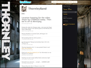 Thornley Band Twitter