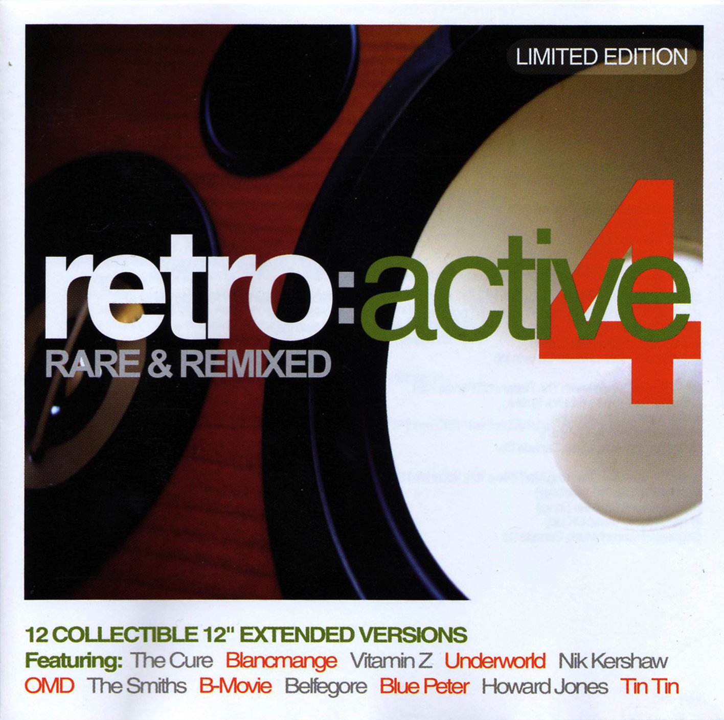 Retro Active 4 Rare & Remixed
